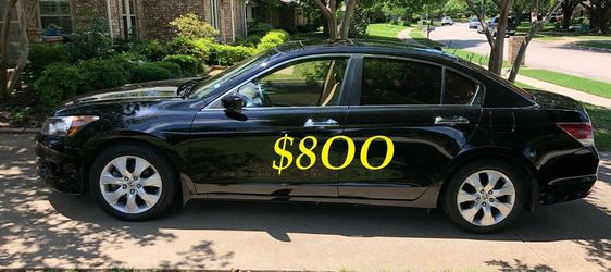 ✅🟢💲8OO Urgently Selling By Owner 2OO9 💚 Honda Accord V6 EX-L Comfortable fully loaded.Clean tittle!!✅🟢..//.././. for Sale in Arlington,  VA
