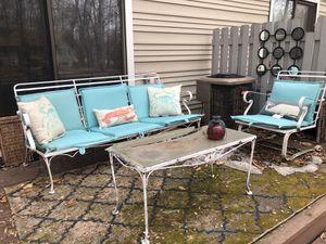 Iron patio furniture for Sale in Minneapolis, MN