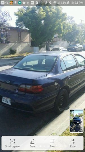 2001 chevy Malibu run great for Sale in Los Angeles, CA