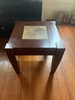 Square end table or Lamp table for Sale in St. Louis, MO