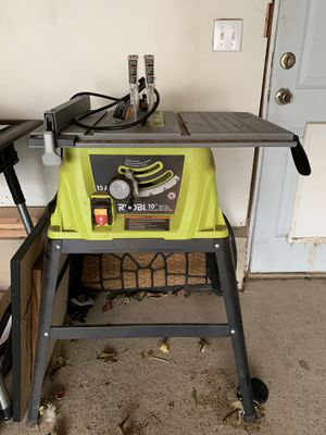 ryobi 15A table saw for Sale in Northglenn, CO