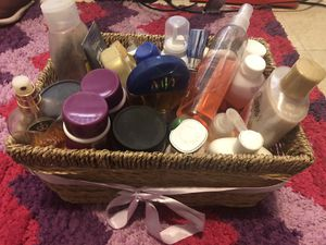 Basket of Misc. Beauty Items for Sale in Norfolk, MA