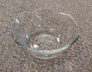Crystal Floral Patterened Dip Bowl for Sale in Burlington, NC