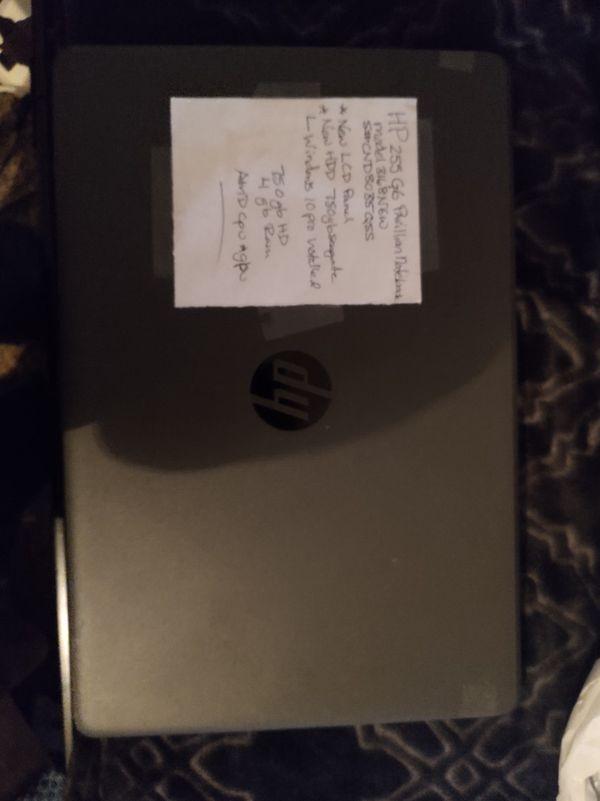 Hp 256 G6 windows 10 laptop