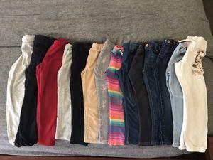 Girl leggings & Jeans - size 5T - 14 pieces for Sale in Phoenix, AZ