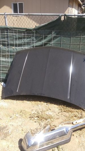 02 silverado hood and 88 c1500 hood and bumper for Sale in Modesto, CA
