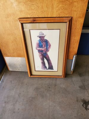 Cowboy picture for Sale in Sun City, AZ