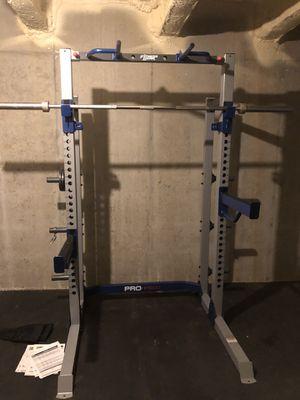 Fitness gear pro half rack for Sale in Bridgeport, WV