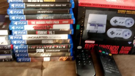 Classic Super Nintendo, Ps3, Ps4 Games for Sale in Santa Fe Springs,  CA