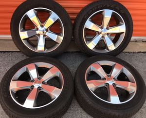 """Like New 20"""" Jeep Grand Cherokee 20 inch Sport Durango OEM Factory Wheels Rims Tires for Sale in Chicago, IL"""