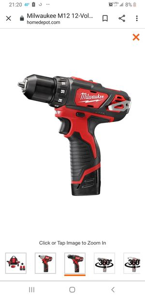 Milwaukee M12 Hammer Drill / Driver for Sale in Portland, OR