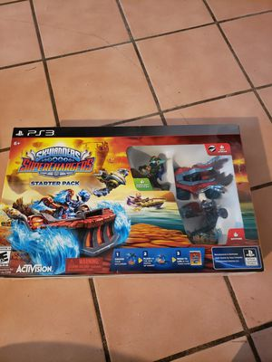 Skylanders ps3 starter kit with extras for Sale in Dartmouth, MA
