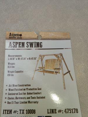 Brand New Aspen Swing for Sale in Albuquerque, NM
