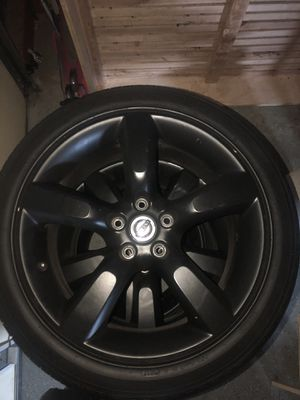 Nissan 350z Rims and Tires for Sale in Victorville, CA