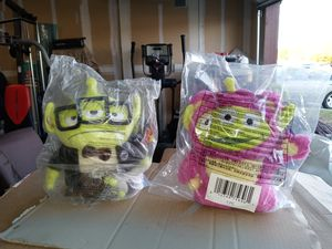 NEW DISNEY REMIX TOY STORY ALIEN PLUSH DIFFERENT CHARACTERS 10$ EACH for Sale in Fresno, CA