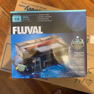 FluvalSmart C4 Power Filter 265L 70 US Gal for Sale in Newark, NJ