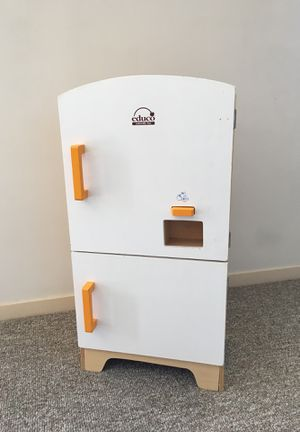 Educational Toys Wooden Play Kitchen Kids Refrigerator for Sale in Mill Valley, CA