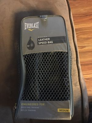 Everlast speed bag for Sale in Concord, CA