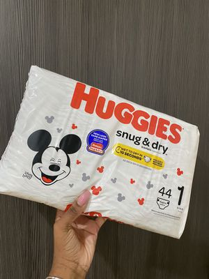 Huggies, 1 month, 44 count for Sale in Jersey City, NJ