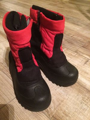 Snow boots size 1 kids boy or girl for Sale in Avondale, AZ
