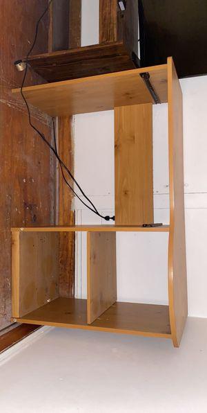 Computer desk with storage for Sale in Petersburg, VA