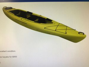 Equinox 14.0T Tandem Kayak with paddles for Sale in Annandale, VA