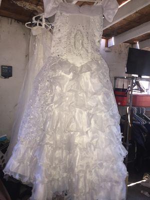 Wedding and baptism dresses vestidos de novia y bautizo for Sale in North Las Vegas, NV