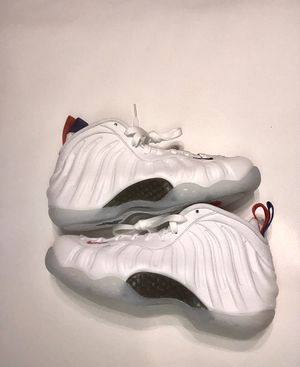 Nike Air Foamposite One USA Womens Size 6.5 AA3963-102 for Sale in Zachary, LA