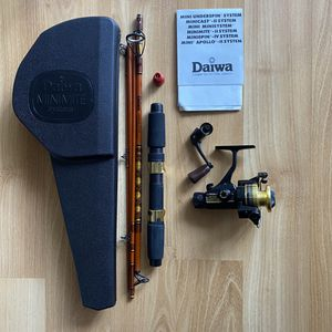 Vintage Daiwa MINIMITE SYSTEM MINI MITE Fishing Reel System MM750 Spinning Reel for Sale in San Jose, CA
