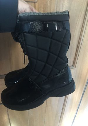 Girls Size 11 Totes Winter/Rain Boots Like New for Sale in East Providence, RI