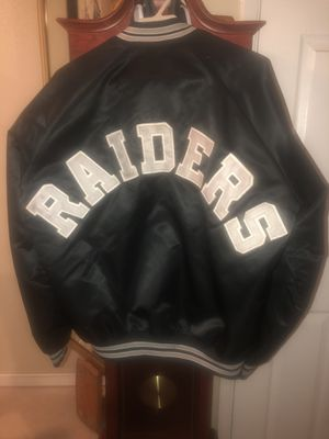 Raiders jacket for Sale in Fresno, CA