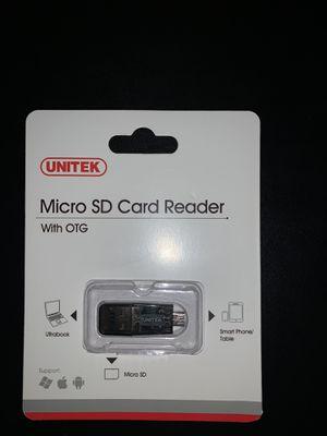 UNITEK Micro SD Card Reader for Sale in Columbus, OH