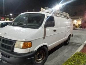 DODGE VAN RAM 3500 WORK VAN BUILT-IN GENERATOR and air compressor for Sale in Anaheim, CA