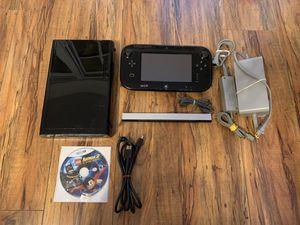 Black 32gb Nintendo Wii U Bundle (CLEAN / Tested) for Sale in Pasadena, CA