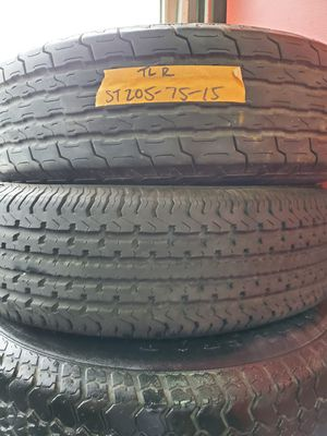 Trailer tires ST 205-75R15 for Sale in Indianapolis, IN