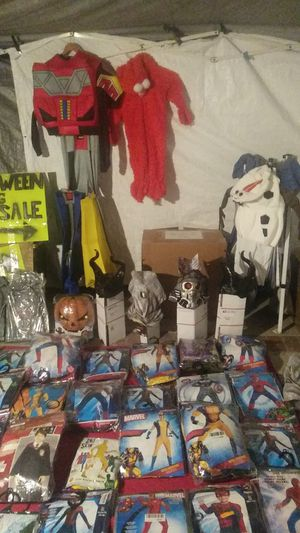 Masks costumes . for Sale in Covina, CA