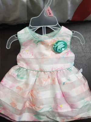 Baby girl dress brand new 0-3 months for Sale in La Habra, CA