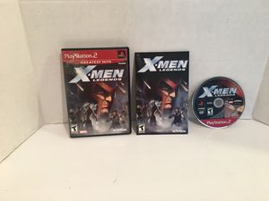 Playstation 2 ps2 X-Men Legends Game for Sale in San Bernardino, CA