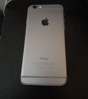 iPhone 6 32GB Silver for Sale in Houston, TX