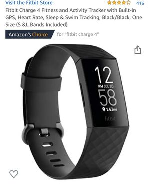 Fitbit charge 4 for Sale in Chula Vista, CA