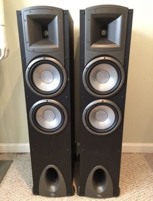 Klipsch synergy F3 Flood Standing Speakers for Sale in Tampa, FL