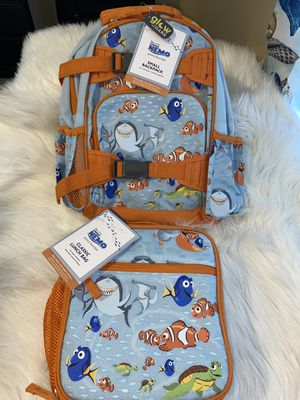 Pottery barn kids backpack & lunch box for Sale in Revere, MA
