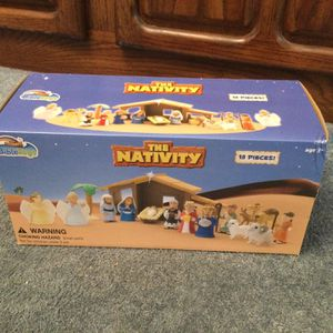 Bibletoys: The Nativity - Brand New for Sale in Bonney Lake, WA