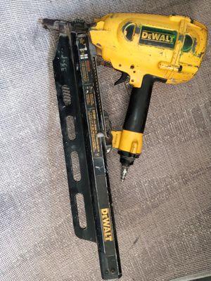 DeWalt framing nail gun for Sale in Long Beach, CA