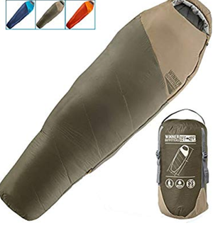 WINNER OUTFITTERS Mummy Sleeping Bag with Compression Sack for Sale in Lake View Terrace, CA