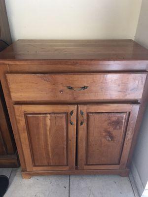 Storage/Microwave Cabinet for Sale in Deltona, FL