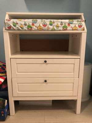Changing table with two Shelves for Sale in San Diego, CA