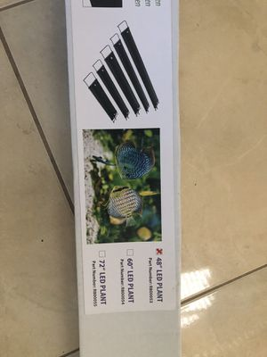 LED LIGHT for the fish tank 48 inches for Sale in Port St. Lucie, FL