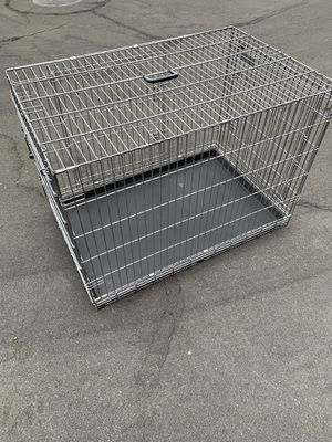 Large Precision Pet Great Crate, Double Door Collapsible Wire Dog Crate for Sale in Corona, CA