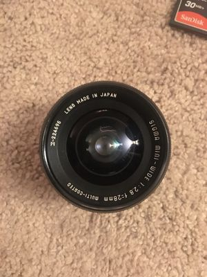 Canon lenses for Sale in Baltimore, MD